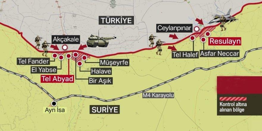 TSK Suriye'de ilerliyor