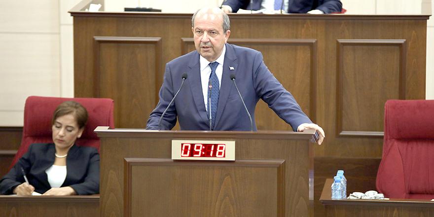 "Başbakan Ersin Tatar:  ""Ben mecbur muyum yahu imzalayayım bu işi?"""