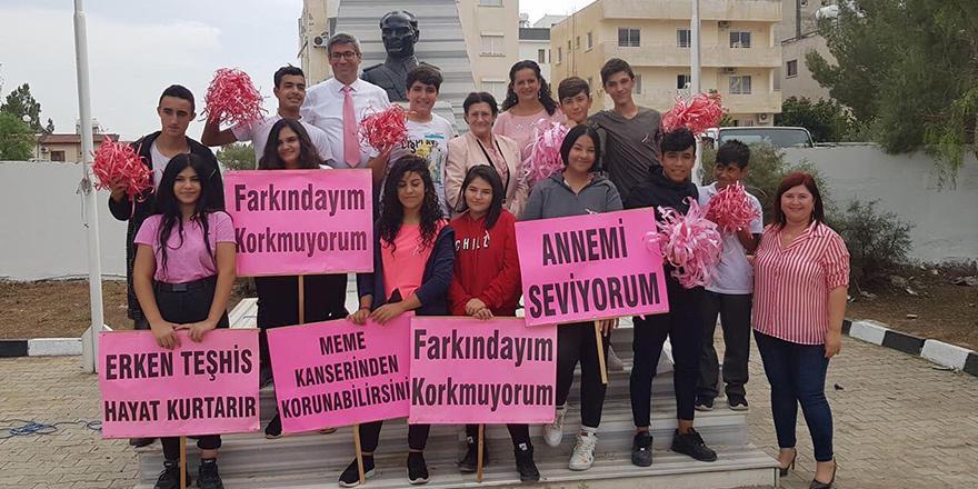 """Osman Örek Meslek Lisesi """"Farkındayız"""" dedi"""