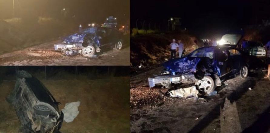 Trafik kazası: Biri ağır 4 yaralı