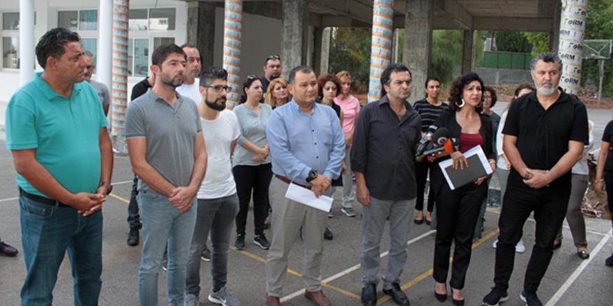 KTOEÖS, Erenköy Lisesi'nde uyarı grevi yapacak