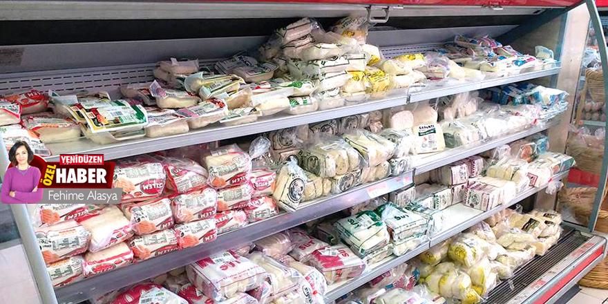 Süt ürünlerdeki fiyatlar değişken Koop'tan çıkışı 44 TL,  markette 55 TL