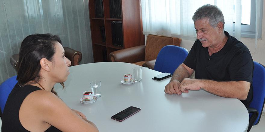 """K.T Müteahhitler Birliği Başkanı Cafer Gürcafer:  """"Şans eseri gidiyoruz"""""""