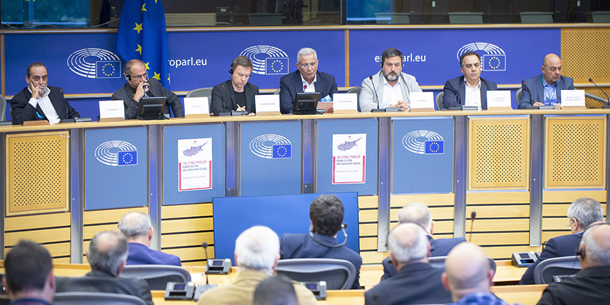 Kıbrıslılar Brüksel'de toplantılara katıldı