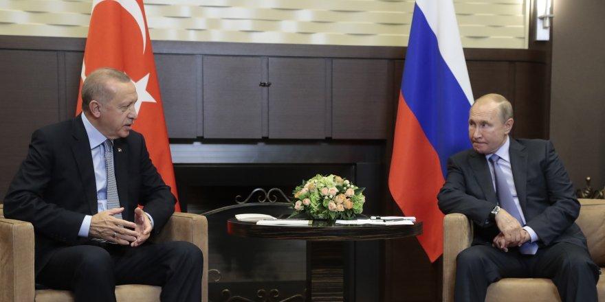 """Erdoğan: """"150 saatin sonunda Türk ve Rus devriyeleri başlayacak"""""""