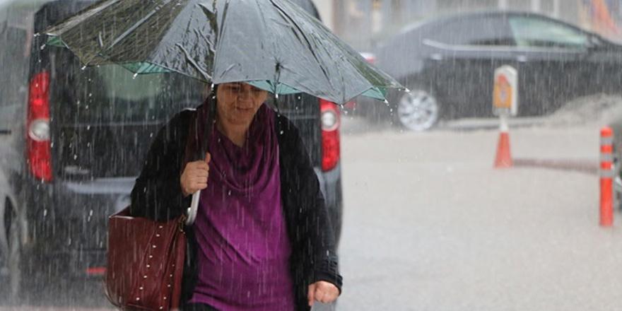 Cumartesi gününe kadar yer yer yağış bekleniyor