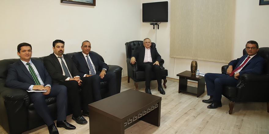Kıbrıs sorunu ve Doğu Akdeniz'deki gelişmeler ele alındı