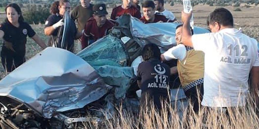 Karpaz'da kaza: Özkan Milli ağır yaralı