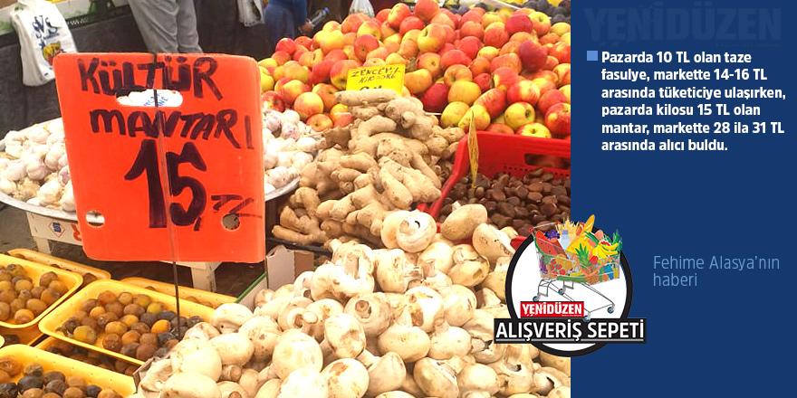 Kültür Mantarı markette 28 TL, Açık Pazar'da 15 TL!
