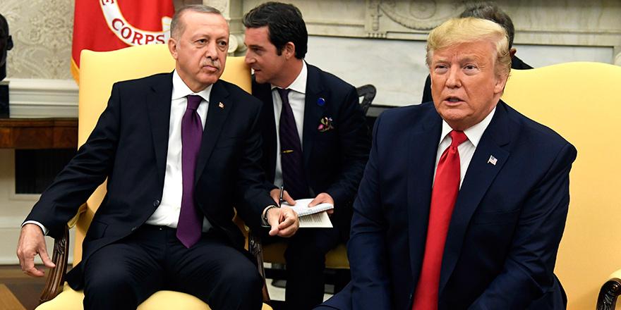 Erdoğan - Trump görüşmesi 75 dakika sürdü