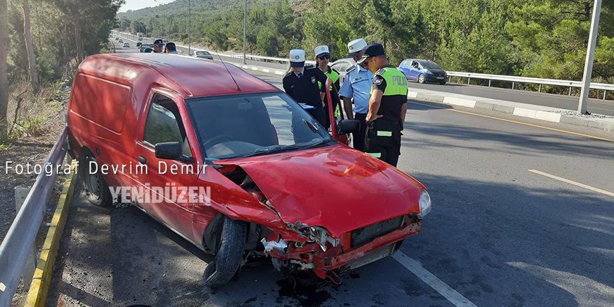 Boğaz'da kaza: 1 yaralı