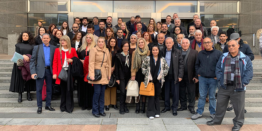 Brüksel'de şiirler, şarkılar Kıbrıs'ta barış için söylendi