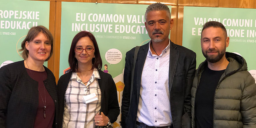 KTÖS, KTOEÖS ve DAÜ-SEN Varşova'da konferansa katıldı