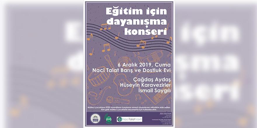 Gençlerden 'Eğitim için Dayanışma Konseri'