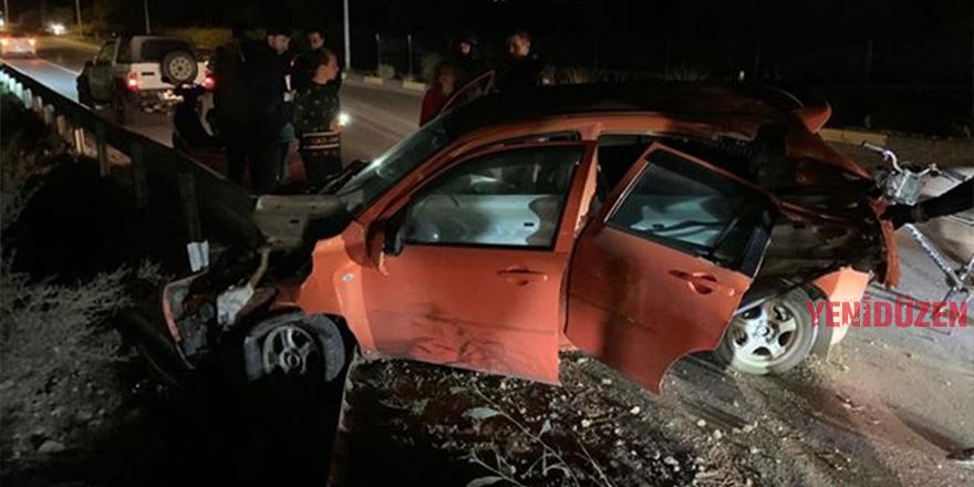 Bir haftada 71 kaza, 30 yaralı