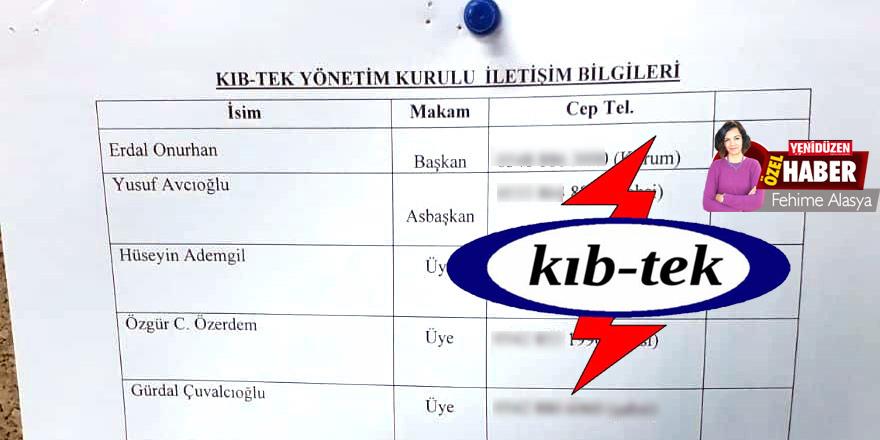 KIB-TEK'te istifa bilmecesi