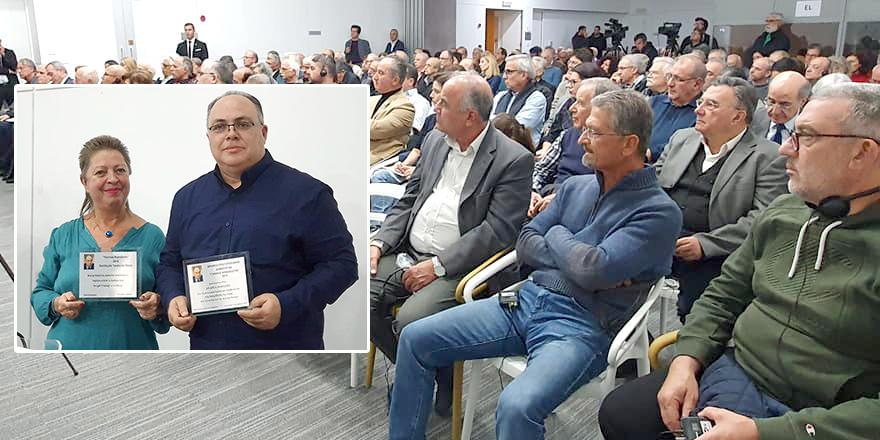 Sevgül Uludağ ve Andreas Parashos'a ödül