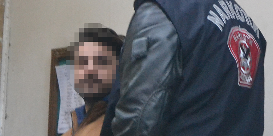 Uyuşturucu zanlısı 'ihbar üzerine' tutuklandı
