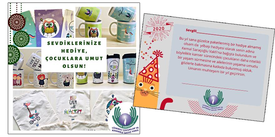 Saraçoğlu Vakfı'ndan yılbaşı hediye seçeneklerine 'Umut Kartı'