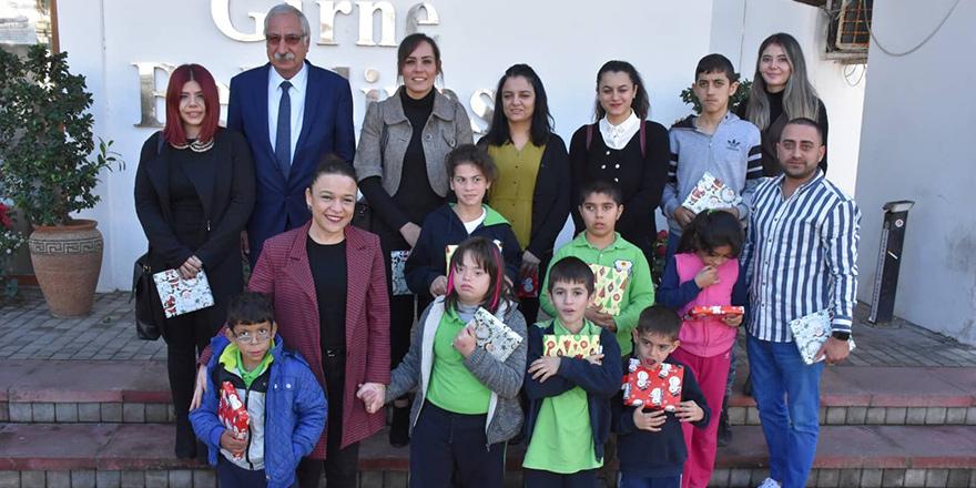 Girne Özel Eğitim Merkezi'nden Güngördü'ye ziyaret