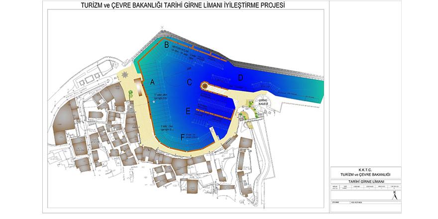 Girne Antik Liman için  9.5 Milyon TL