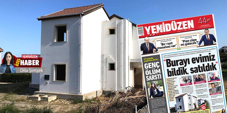 'Evler satışa sunulacak'