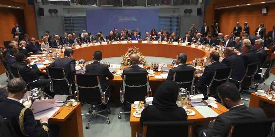 Libya Konferansı'nda ateşkes kararı alındı