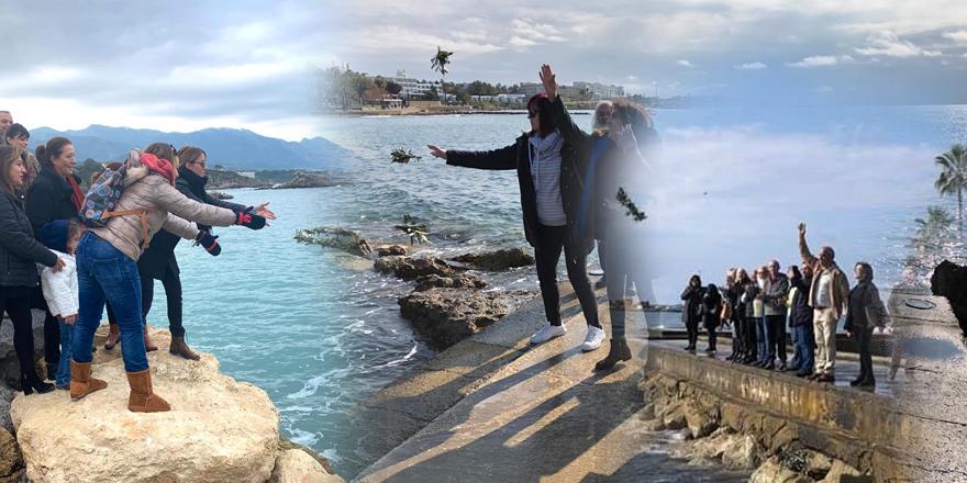 Kıbrıs'tan çağrı: Barış denizleri istiyoruz!