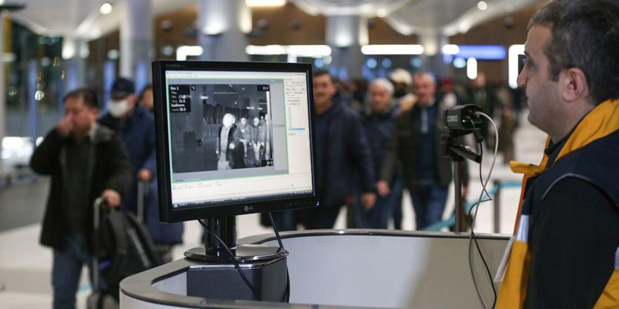 Çinli yolculara, İstanbul Havalimanı'nda termal kameralarla kontrol