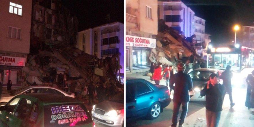 Elazığ'da 6,5 büyüklüğünde deprem