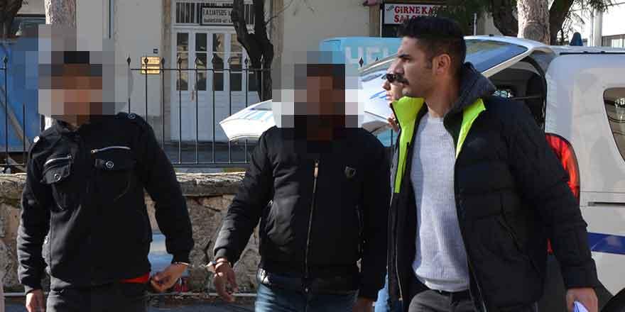Girne'de kaçak operasyonu