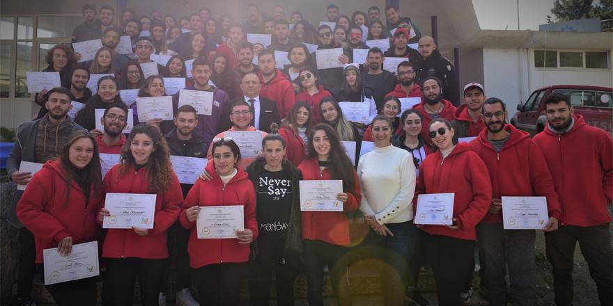 Gençlik Kampı'na katılanlara sertifikaları verildi