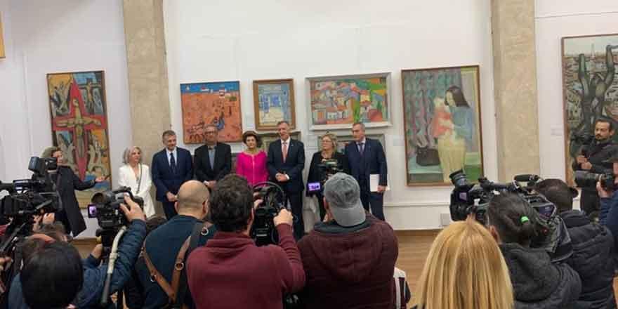 İade edilen eserler sergisi açıldı