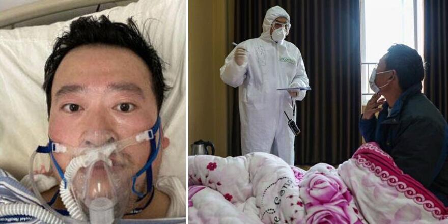 Koronavirüs'ü ilk fark eden doktor da öldü