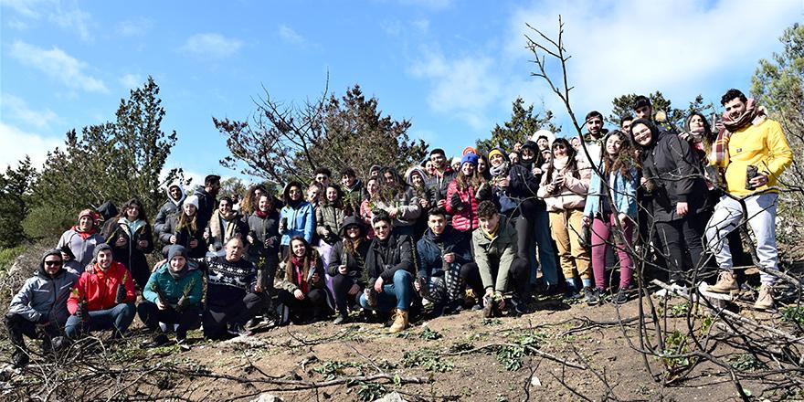 150 gençten doğaya fidan…