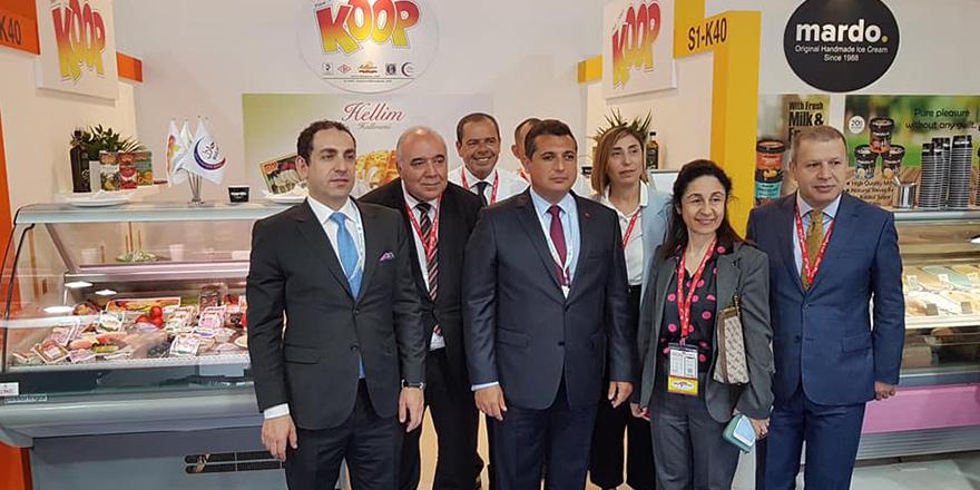 Kıbrıs ürünleri Dubai'de tanıtıldı