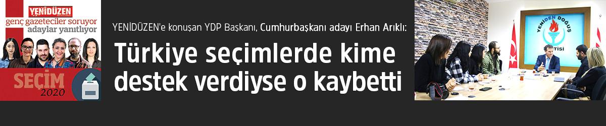"""""""Türkiye seçimlerde kime destek verdiyse o kaybetti"""""""