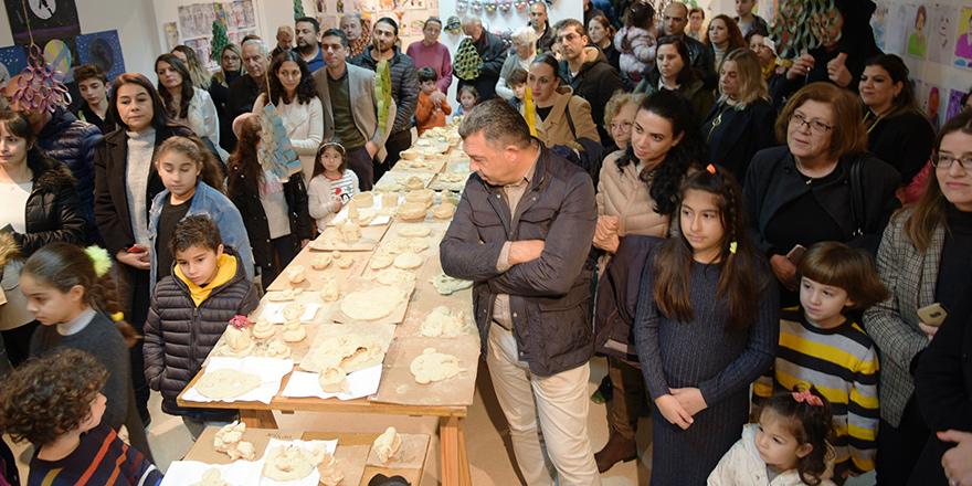 Lefkoşa'da Kış Dönemi Çocuk Atölyesi Sergisi açıldı