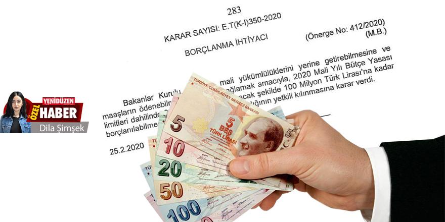 40 Milyon TL borçlandı  'DURUM VAHİM'