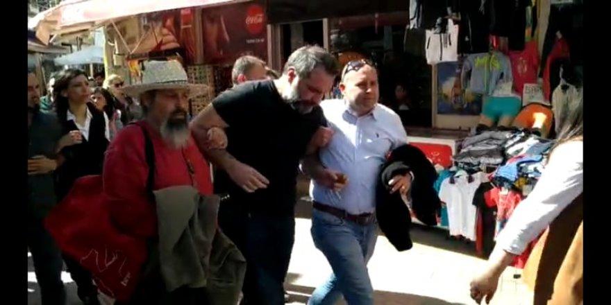 Gazeteciler de etkilendi: Protesto ediyoruz