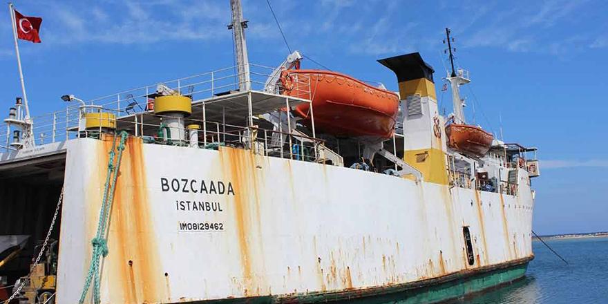 Sağlık ekipleri Salamis'e gitti, gemi bekledi