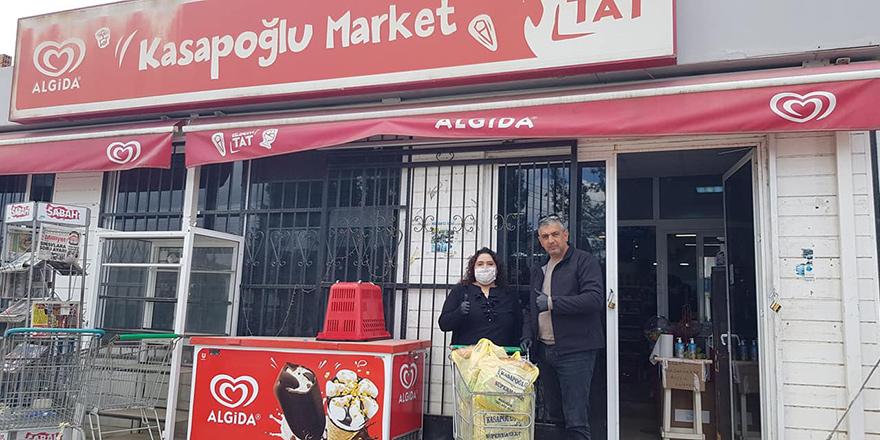 Akdoğan'da anlamlı bağış