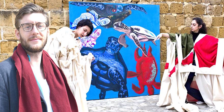 ALDEN JACOBS - Amerika'dan Kıbrıs'a  Sanatla barış eğitimi verecek