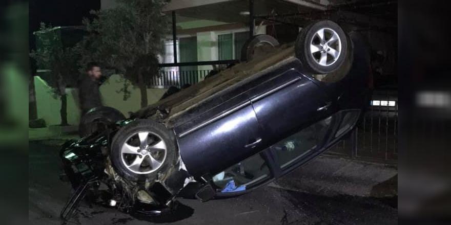 Alkollü araç sürücüsü korkuttu
