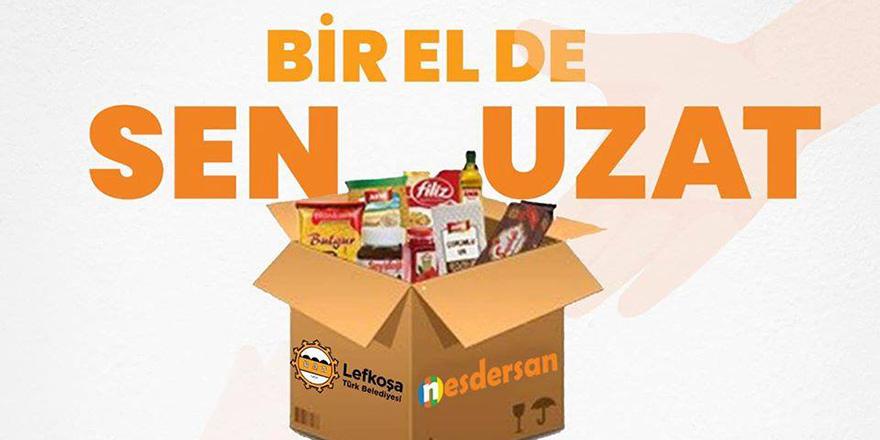 Bin 500 gıda paketi LTB'ye ulaştı