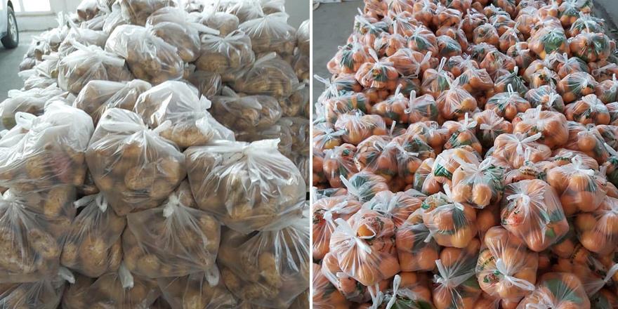 Lefke Belediyesi yardım paketleri hazırladı