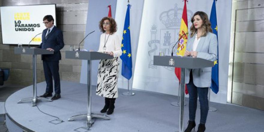 İspanya hükümeti Koronavirüs gerekçesiyle çalışanların işten atılmasını yasakladı