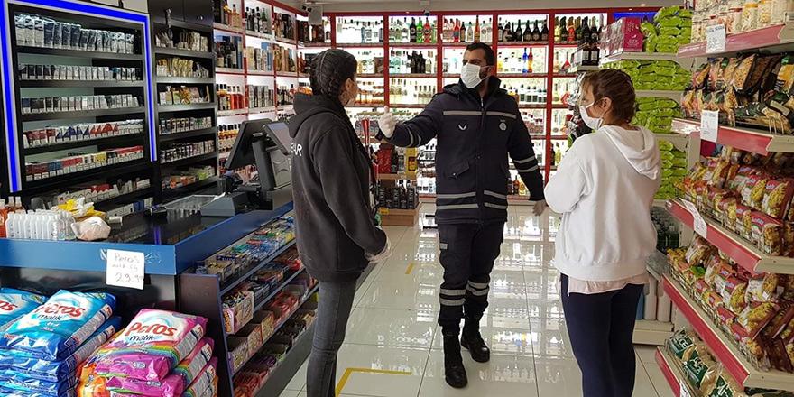 Girne'de 45 market denetlendi, 2'si kapatıldı