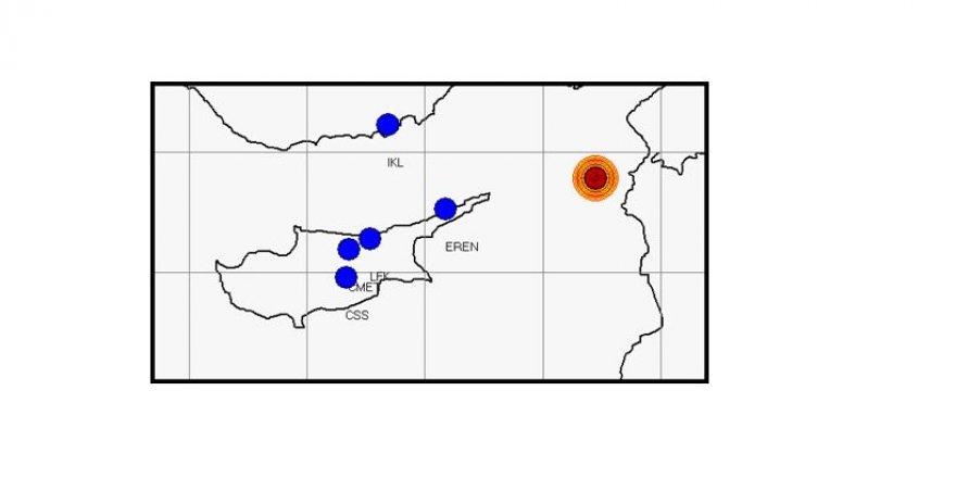 Erenköy açıklarında 5 şiddetinde deprem