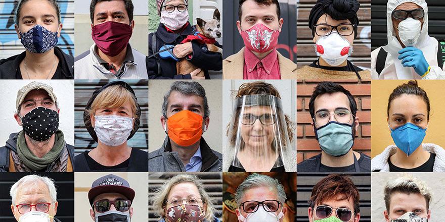 'Maskesiz sokağa çıkma' çağrısı